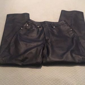 All Leather Pants Size 8P